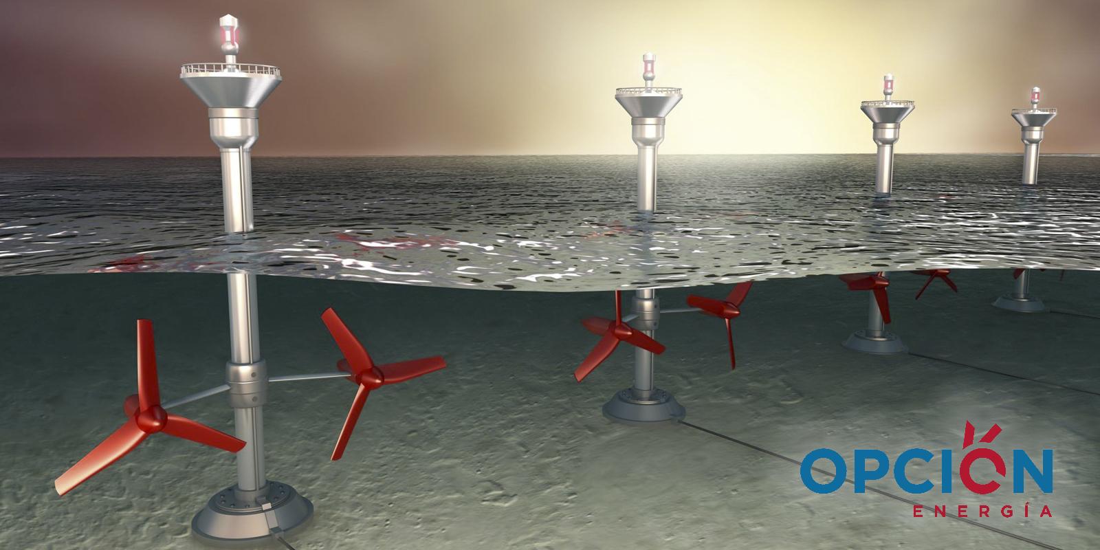 Energía renovable obtenida mediante las olas del mar